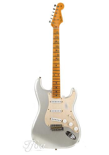 Fender Custom Fender Custom LTD NAMM 55 Dual-Mag Stratocaster Relic Inca Silver