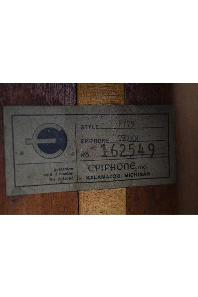 Epiphone FT79 Texan Sunburst 1964