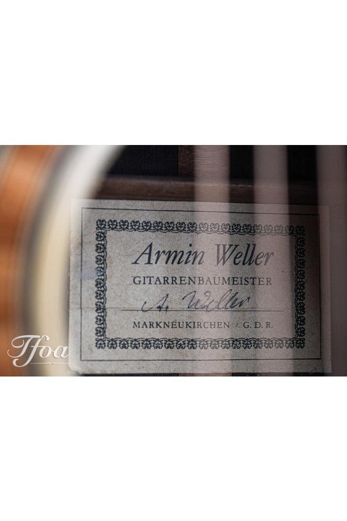 Armin Weller OM Deep Body Brazilian Rosewood German Spruce 1991