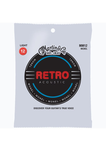 Martin Strings Martin Retro MM12 Monel