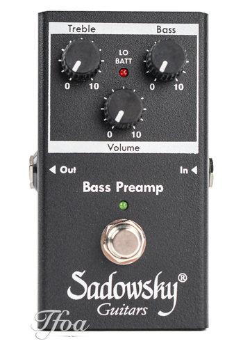 Sadowsky Sadowsky SBP2 Outboard Bass Preamp DI
