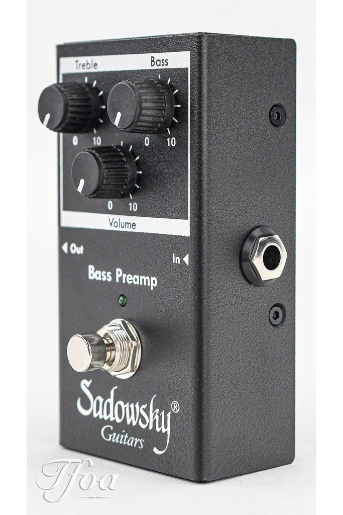 Sadowsky SBP2 Outboard Bass Preamp DI