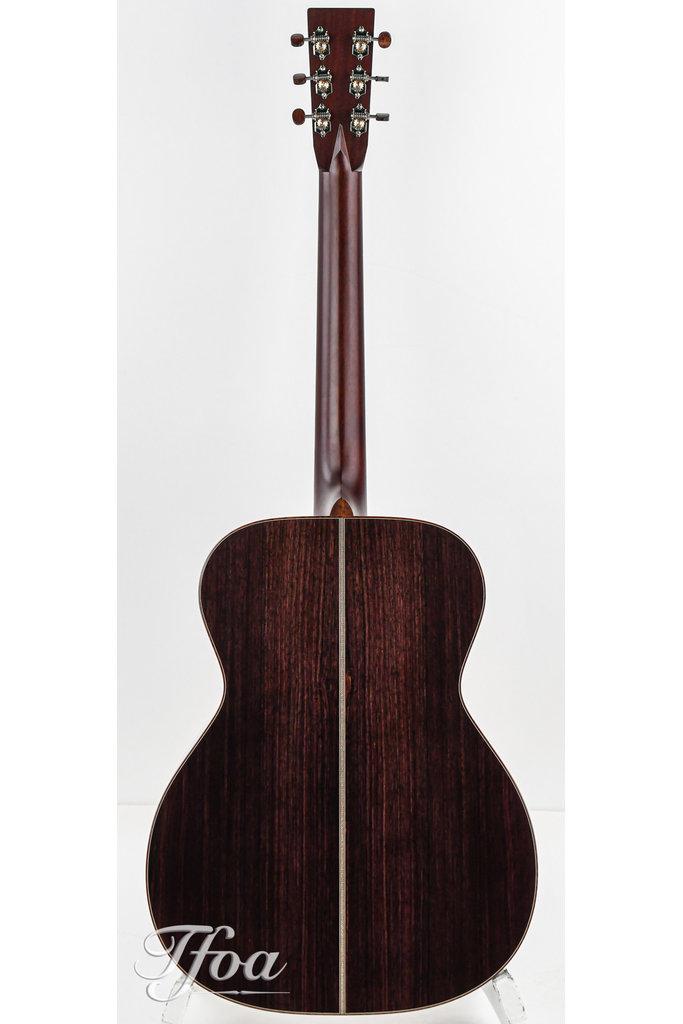 Santa Cruz OM Custom European Spruce Rosewood