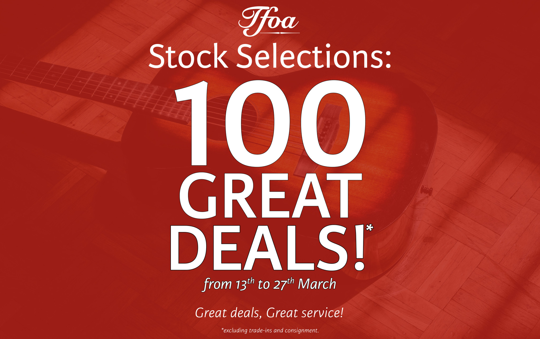 STOCK SELECTIONS DISCOUNT