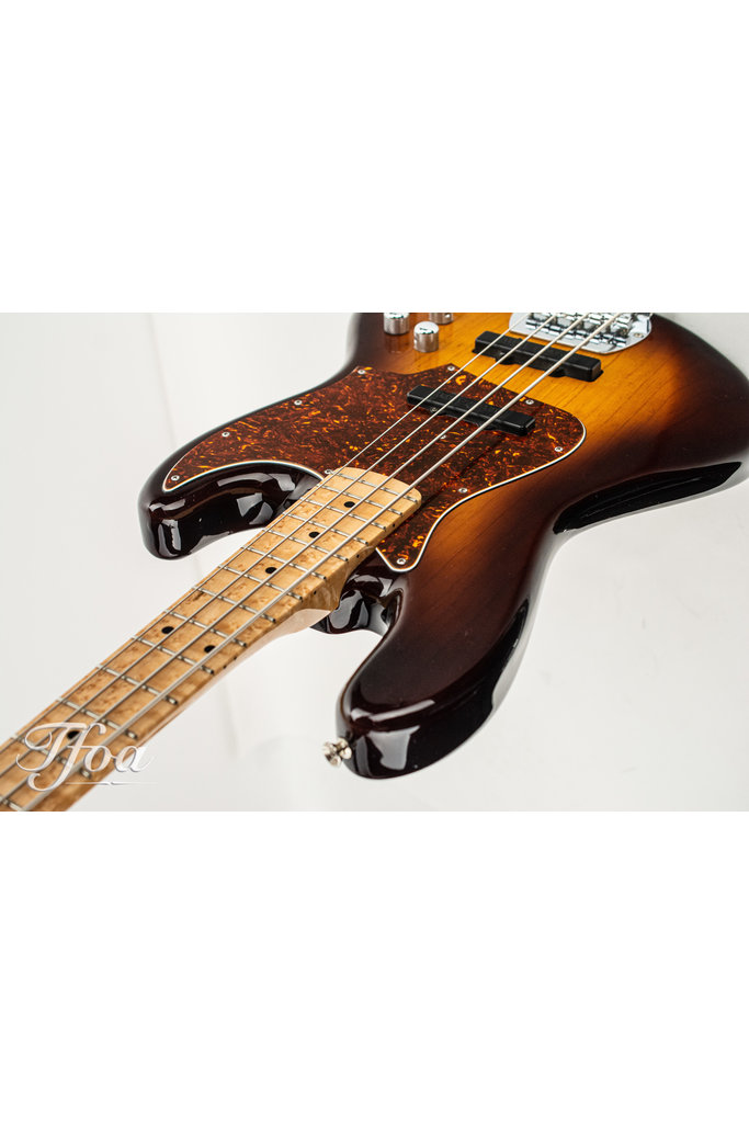 Vox Humana J-Bass Birdseye Bartolini Sunburst Pre-loved