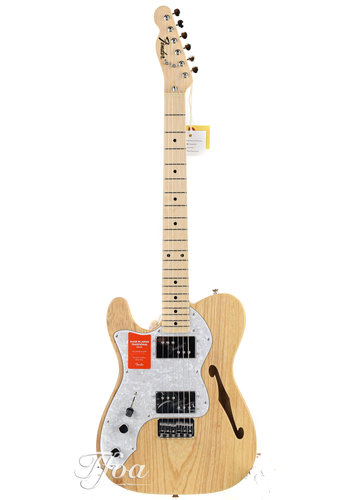 Fender Fender Limited Edition Traditional 70s Telecaster Thinline Natural Lefty