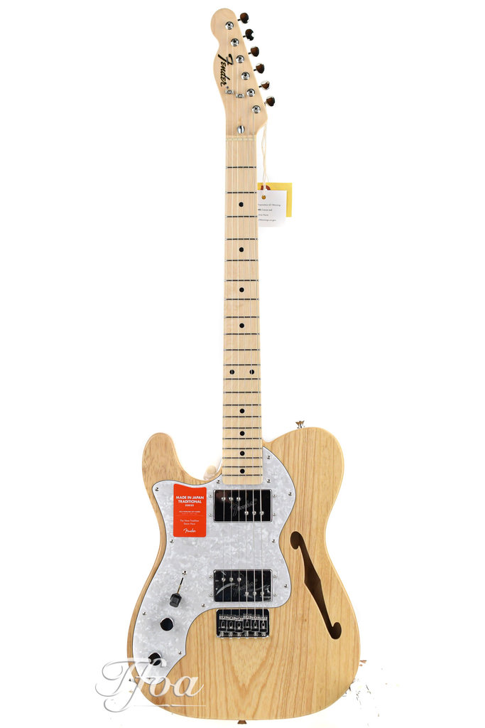 Fender Limited Edition Traditional 70s Telecaster Thinline Natural Lefty