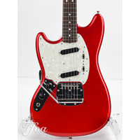 Fender Limited Edition Traditional 60s Mustang RW Candy Apple Red Lefty