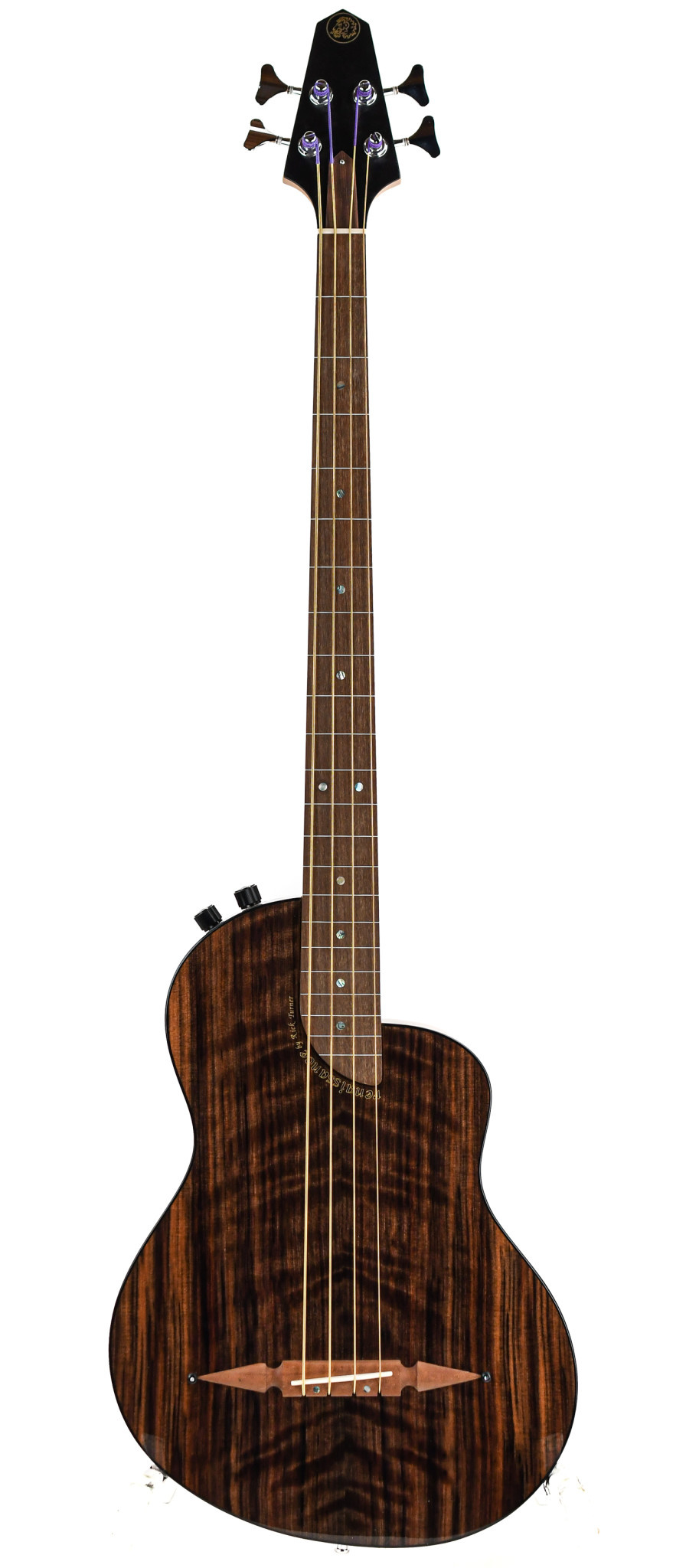 Rick Turner RB4FL Renaissance Deluxe Redwood Fretless Bass