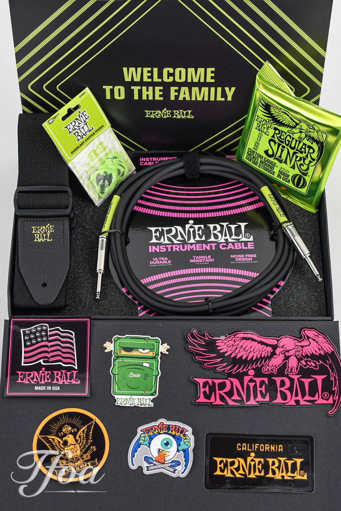 Ernie Ball Electric Pack Accessoires Luxury Giftbox