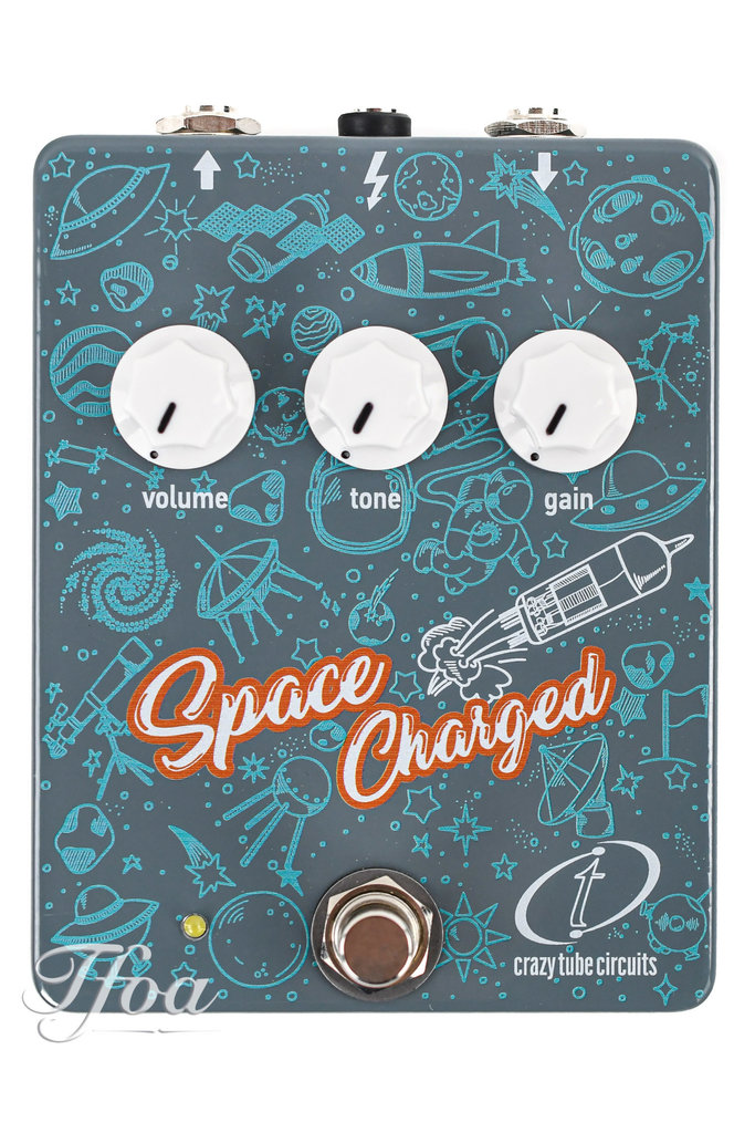 Crazy Tube Circuits Space Charged Overdrive