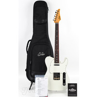 Suhr Classic T Pro Antique Olympic White Rosewood