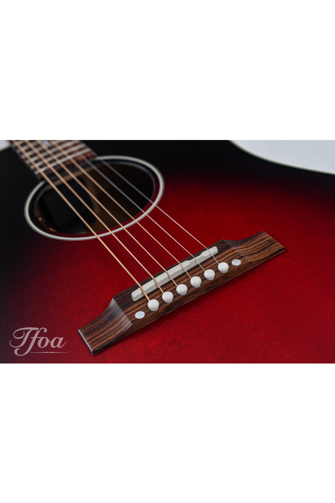 Gibson Slash J45 Limited Edition Vermillion Burst