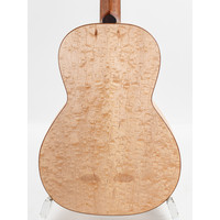 Andy Manson Kingfisher Quilt maple 12 fret 000 New Old Stock