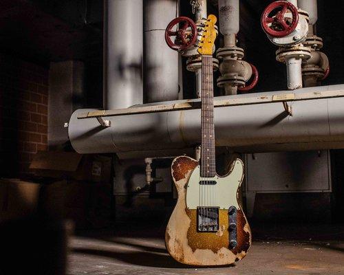 Een perfecte gitaar, dankzij de Custom Shop!