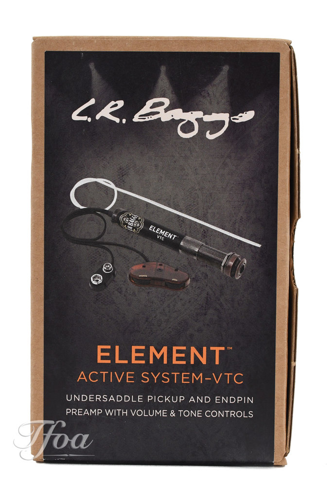 LR Baggs Element Active  with Volume & Tone Control