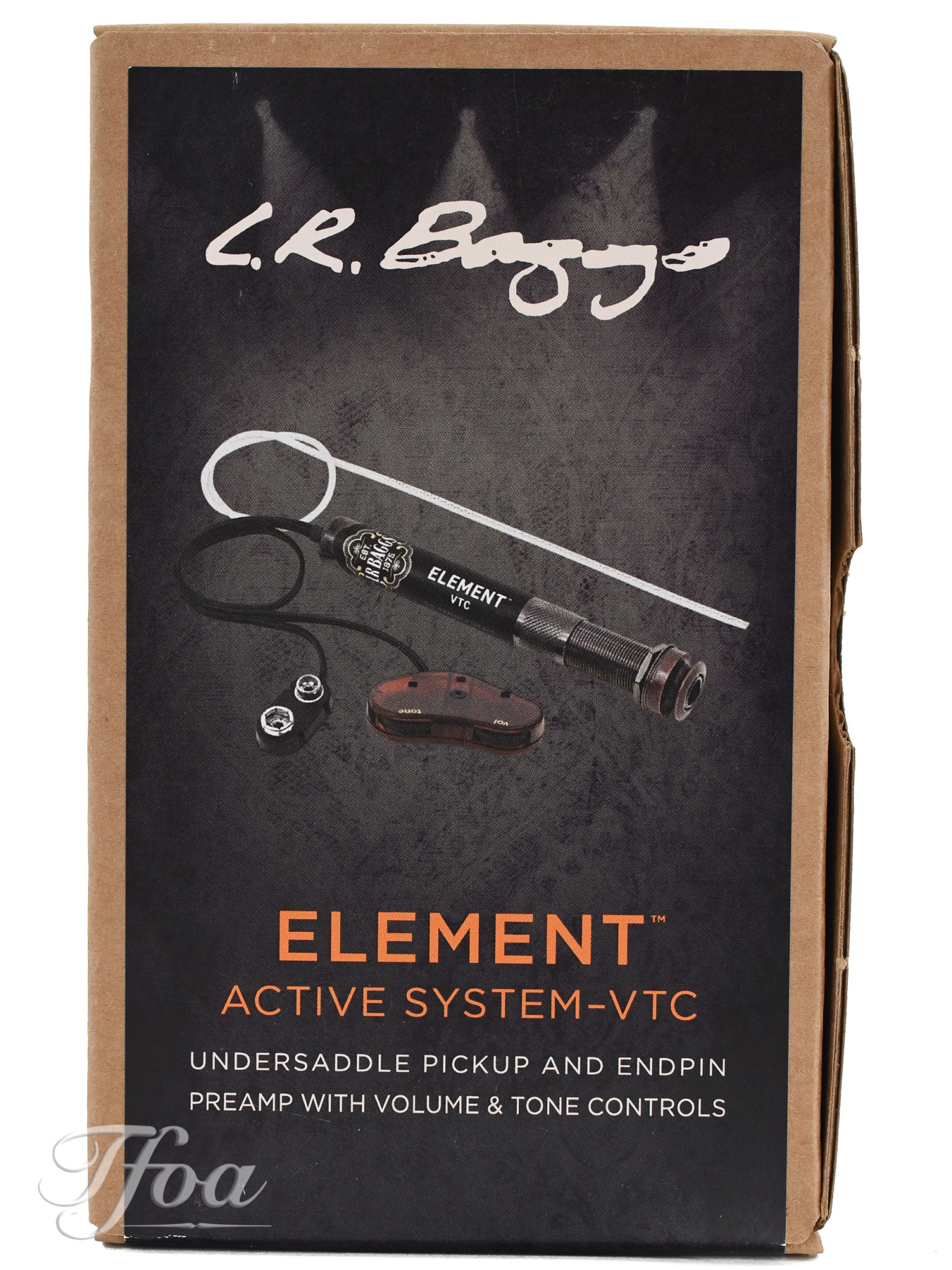 LR Baggs Element Active  with Volume+Tone Control