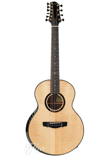 Kevin Ryan Kevin Ryan Nightingale Tiger Myrtle Adirondack 12-2 string