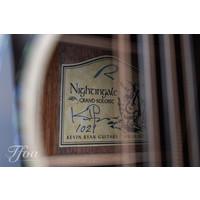 Kevin Ryan Nightingale Tiger Myrtle Adirondack 12-2 string