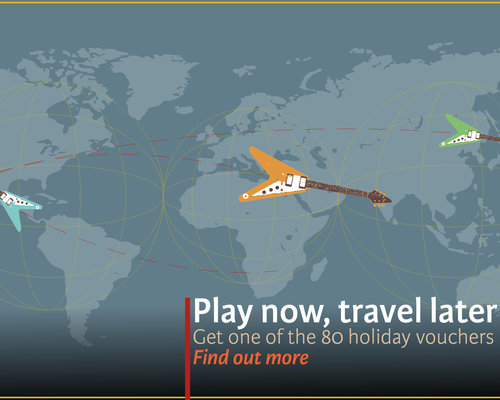 Play Now, Travel Later! | Free Holiday Vouchers at TFOA!