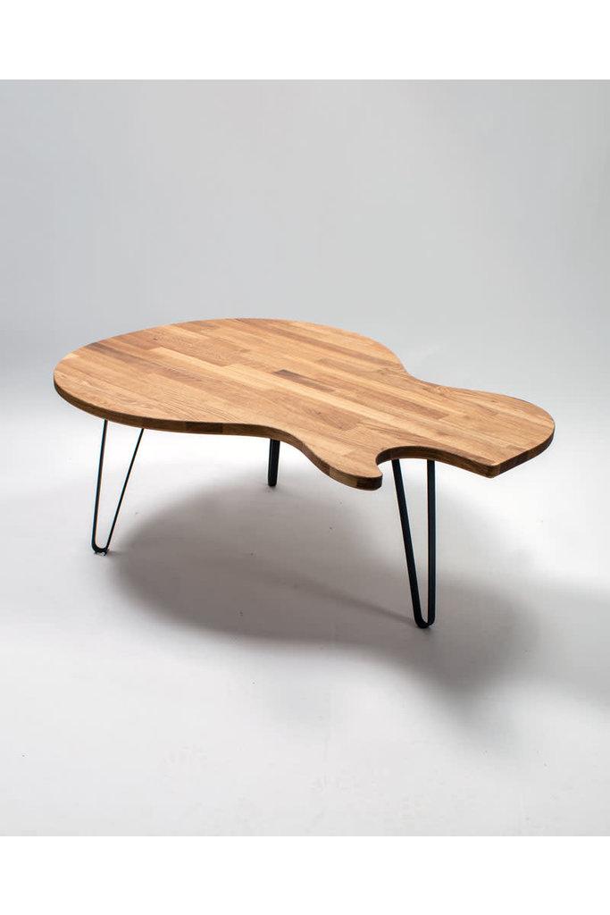 Ruwdesign Guitar coffee Table Singlecut model
