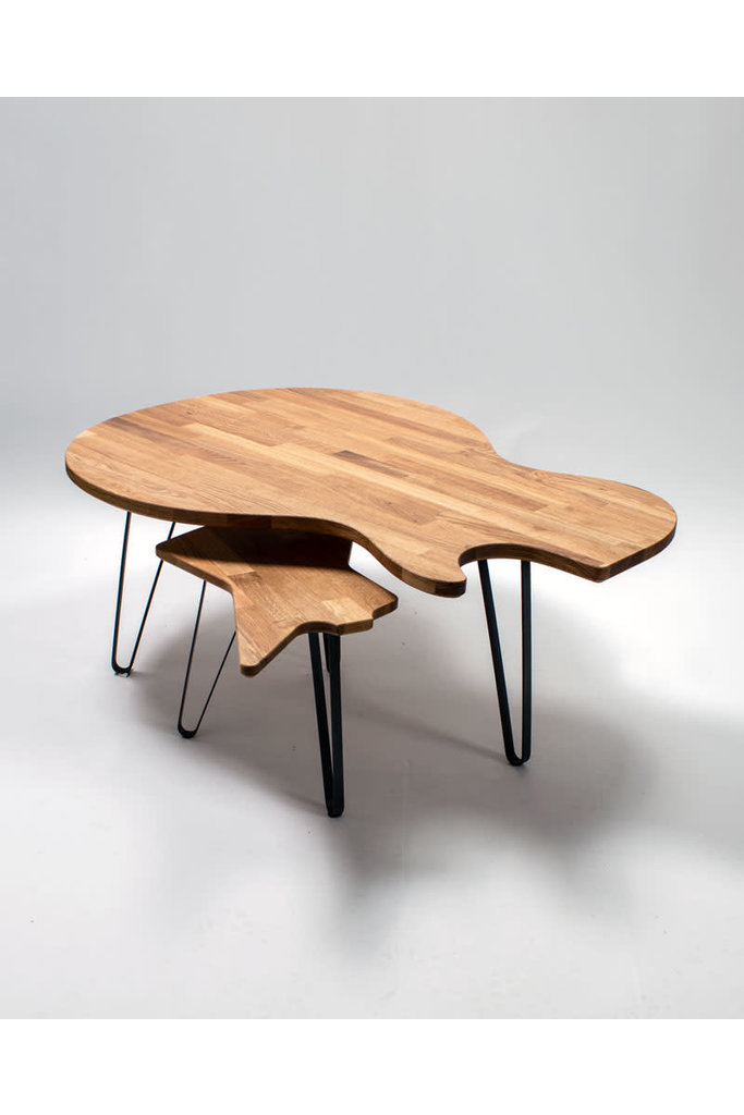 Ruwdesign Gitarren Kaffee Tisch Single Cut Model