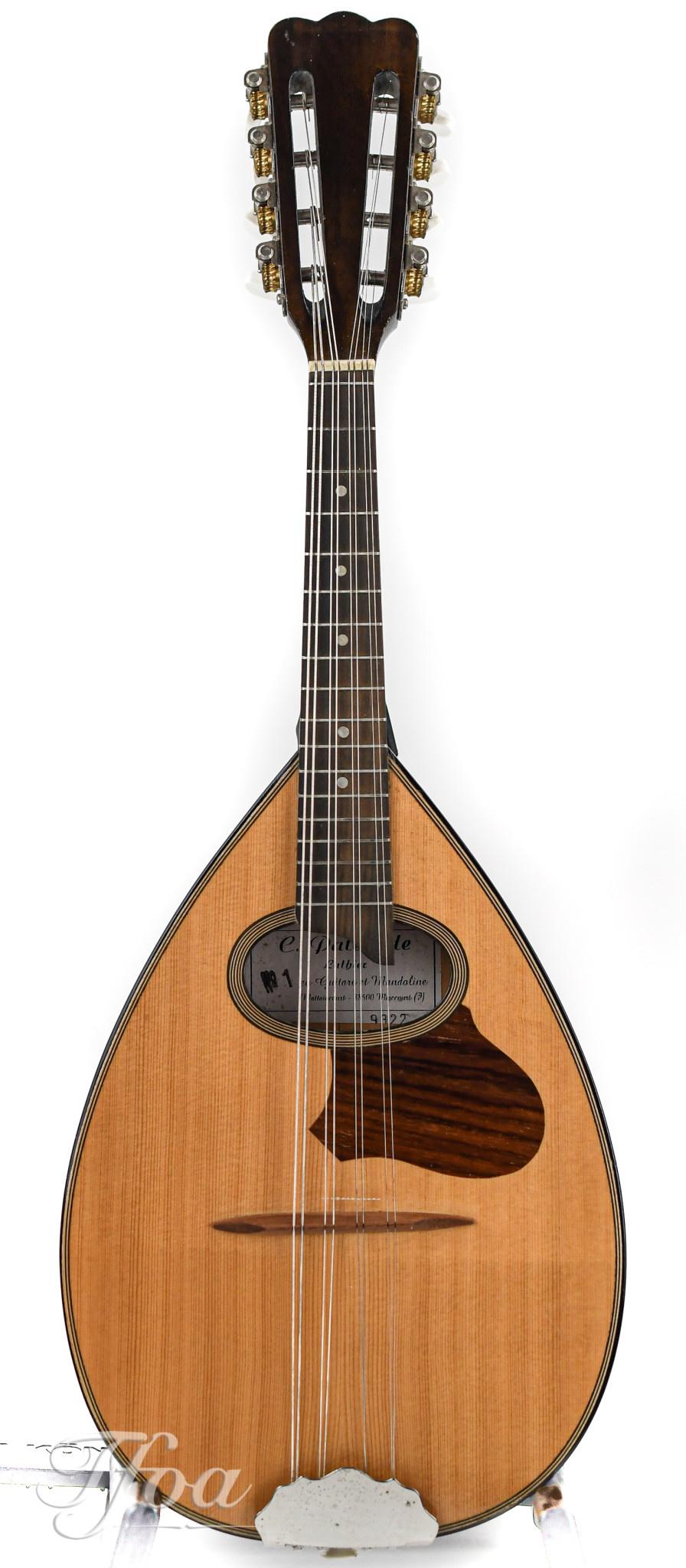 Claude Patenotte French mandolin 1990s