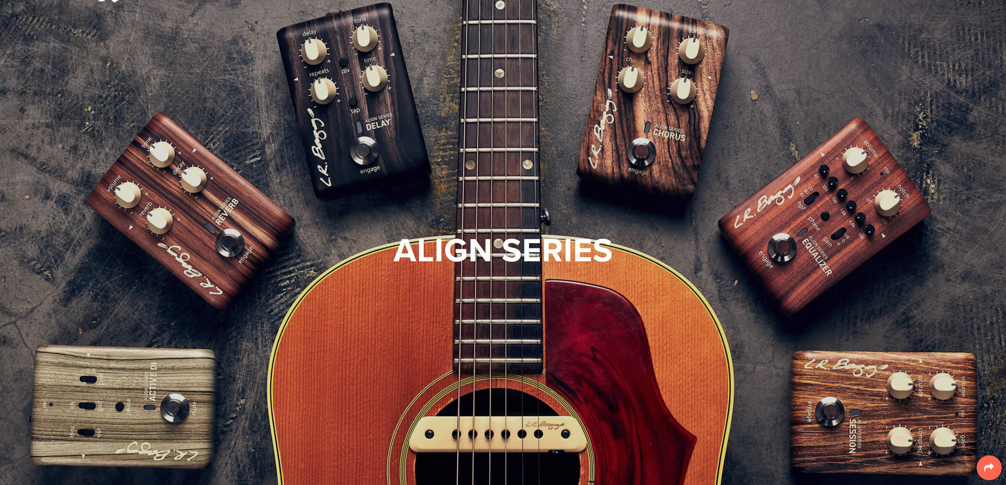 The LR Baggs Align Series   Acoustic Guitar Pedals
