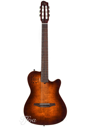 Godin Godin Multiac Nylon Encore Burnt Umber SG