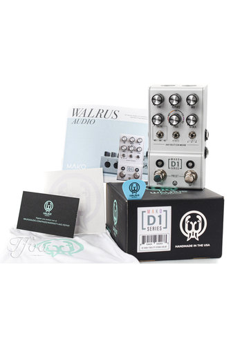 Walrus Audio Walrus Audio D1 High Fidelity Stereo Delay