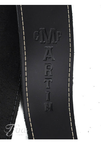 Martin Martin Leather Strap Standard Black