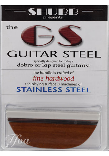 Shubb Shubb GS Guitar Steel Slide Fine Hardwood