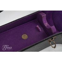 Gibson 30's/40's Jumbo Case Double Arched Purple Lining
