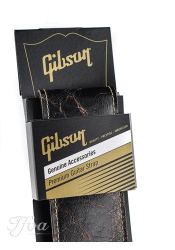 Gibson Gibson the Vintage Saddle Strap Black