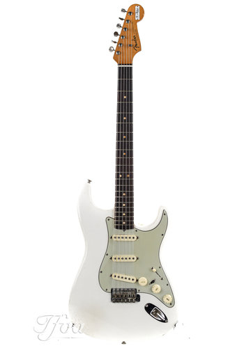 Fender Fender Stratocaster 1963 refin olympic white