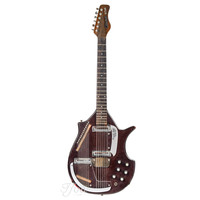 Coral Sitar Vincent Bell Signature Bombay Red 1960s
