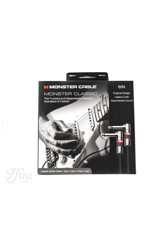 Monster Classic 8 Angled 0.2m Patch Cable