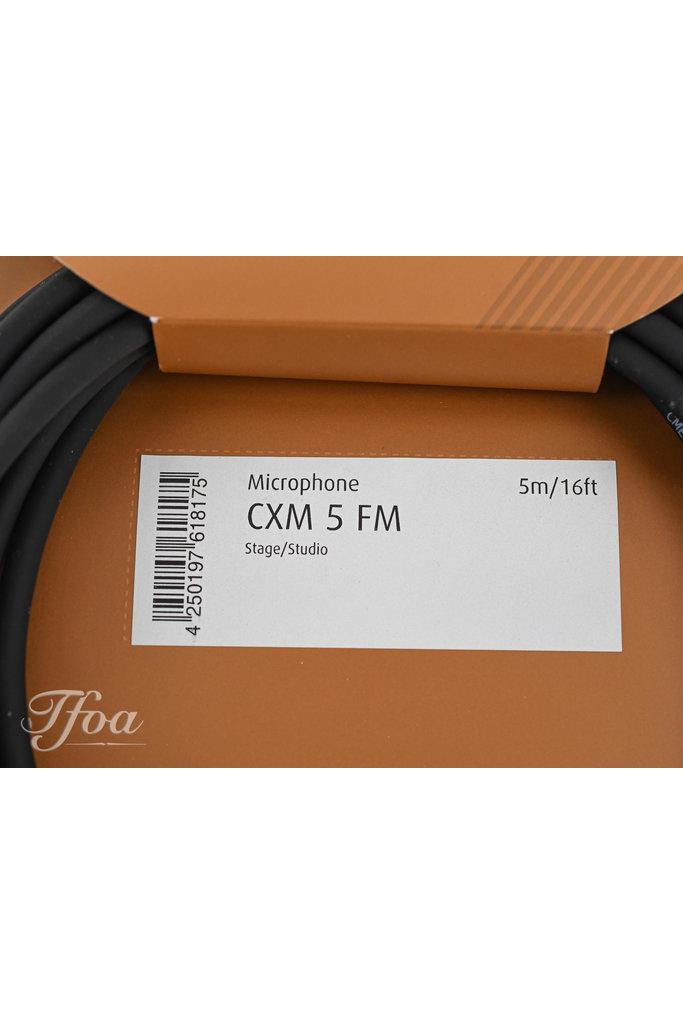 Cordial CXM5FM XLR Microphone Cable 5M