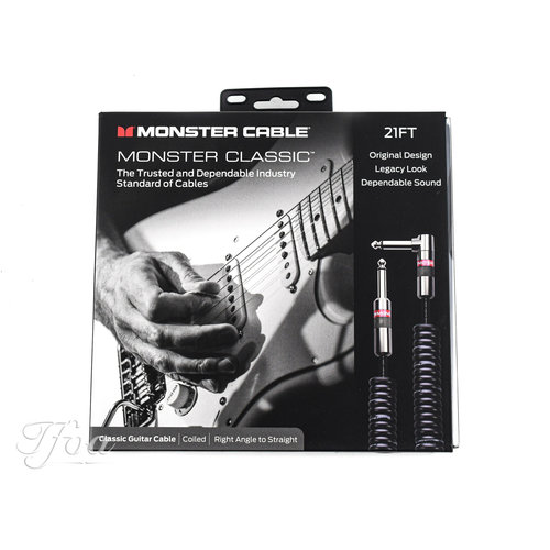 Monster Cable Monster Classic 21ft Coiled 6.4m Instrument Cable