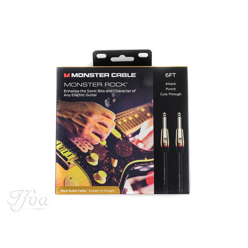 Monster Cable Monster Cable Rock 6ft Straight Straight 1.8m Instrument Cable