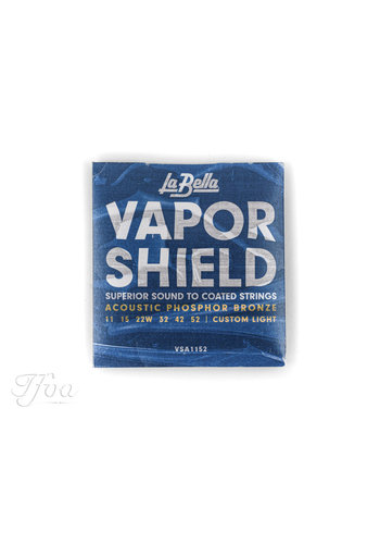 La Bella La Bella VSA1152 Vapor Shield Phosphor Bronze 011-052 Strings