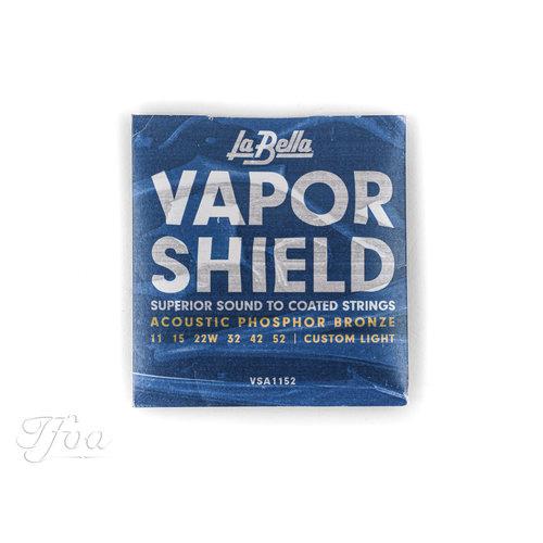 La Bella La Bella VSA1152 Vapor Shield Phosphor Bronze 011-052 Strings