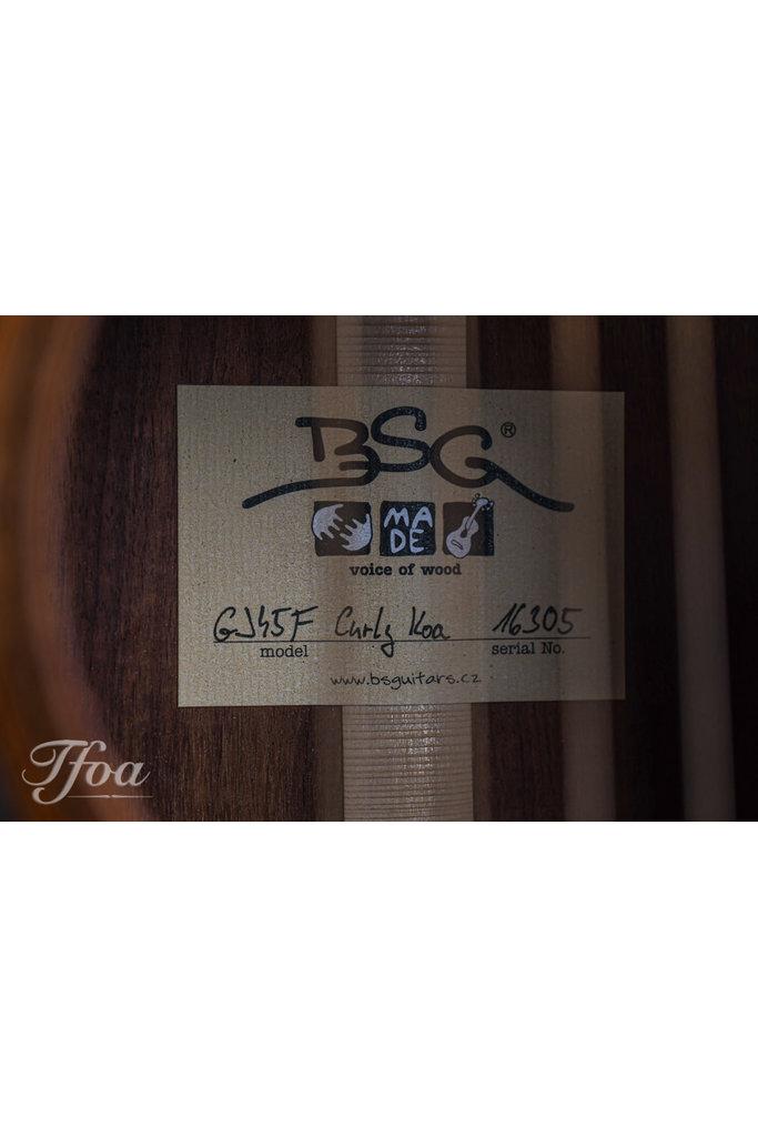 BSG GJ45F Curly Koa