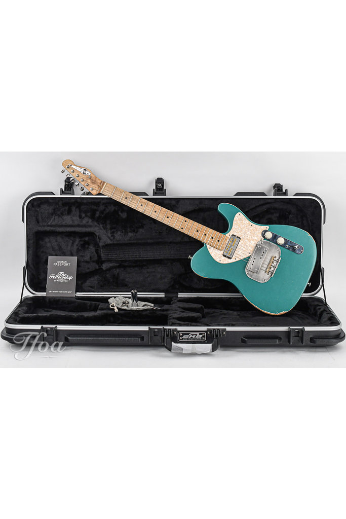 Waterslide T-Style Coodercaster Sherwood Green