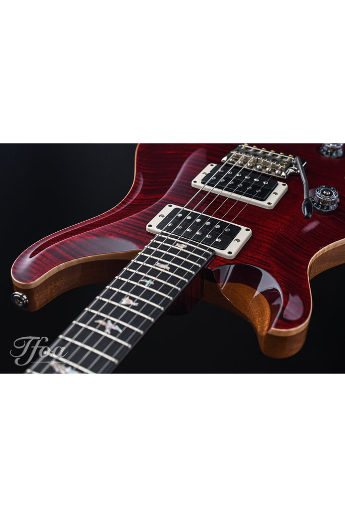 PRS Custom 24 Red Tiger Lefty 10-Top