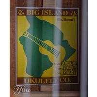 Big Island Honu KXE-TRCG Tenor Ukulele