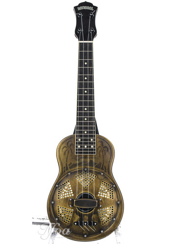 National National Style O Ukulele Antique Brass