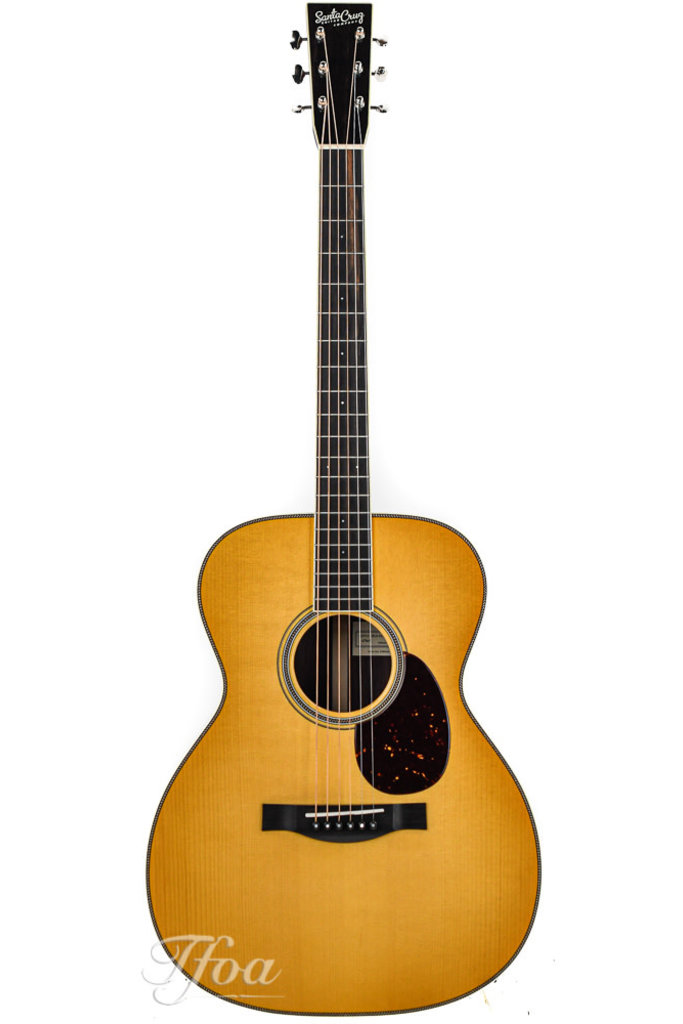 Santa Cruz OM Custom Adirondack Shade Edge Sunburst