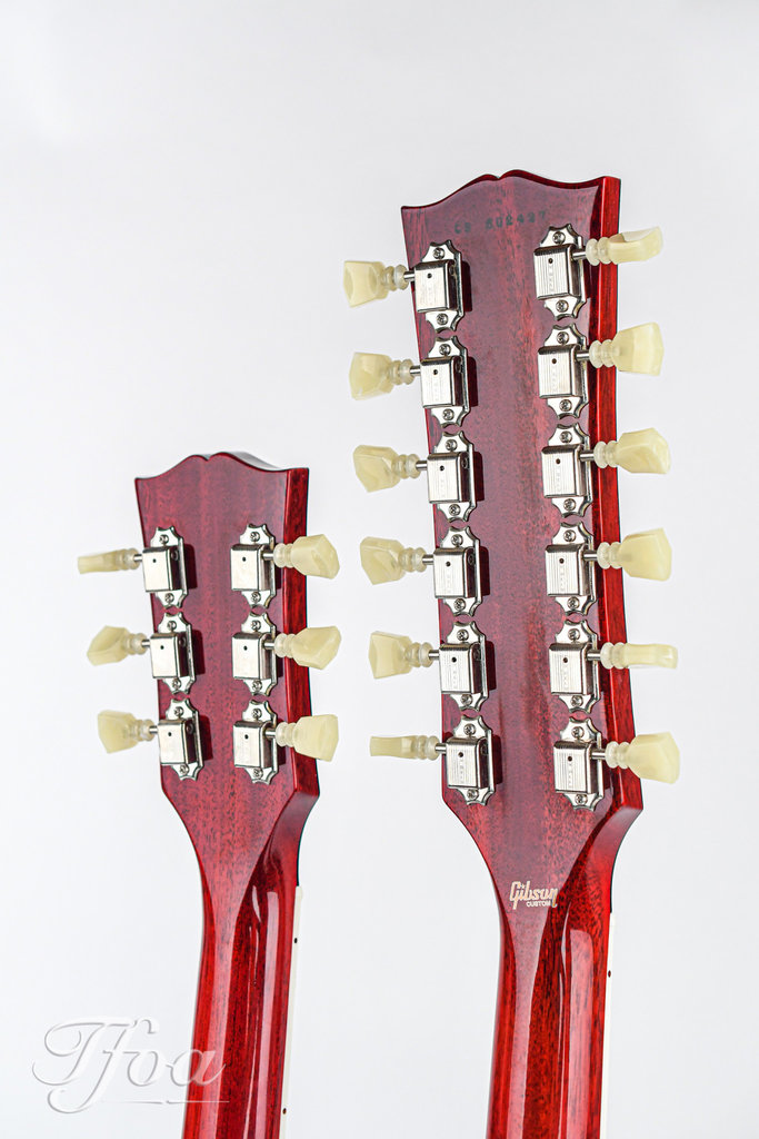 Gibson Custom Shop EDS1275 Double Neck Cherry Red VOS 2016