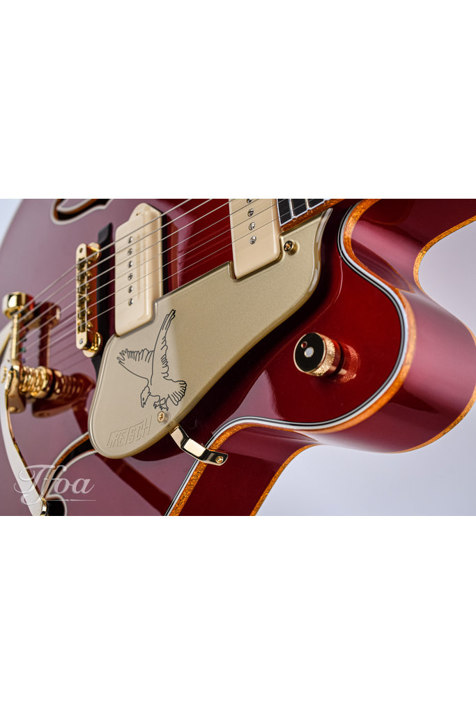 Gretsch G6136CST 2013 P90 Candy Apple Red Falcon Custom Shop